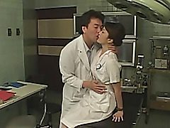 Cosplay takes place in a hospital. Everybody wants to bang a pretty asian woman patient. They screw her slit with sex toys, perform titillating squirt until she's totally fatigued