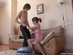 He paints her toenails and ravages her teenager facehole