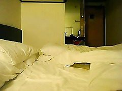 Chinese unexperienced romp in a motel apartment