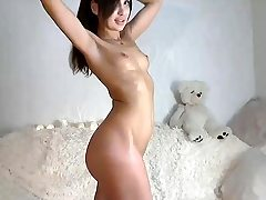 Small titted teen solo