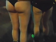 BootyCruise: Rave Night Cam 23 - Platform Boots & Bare Asses