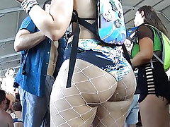 Giant Ass Party Teen Bend Over