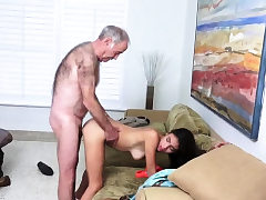 Teen vs aged and boy drill hd very first time Poping Pils!