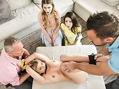 Disciplinary Daughter-in-law Bang-out