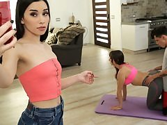 Mother And Step Son-In-Law Do Yoga Together - S12:E4