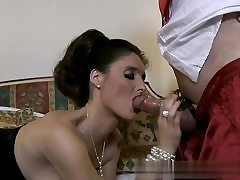 Hubby is watching his wifey getting hammered by this horny neighbor